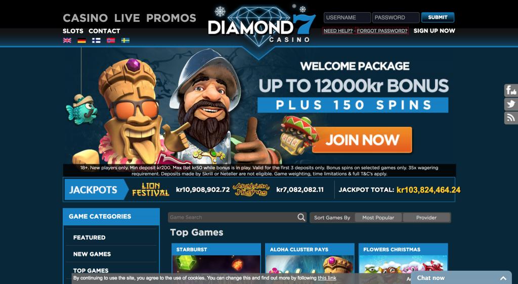 Diamon7 Casino