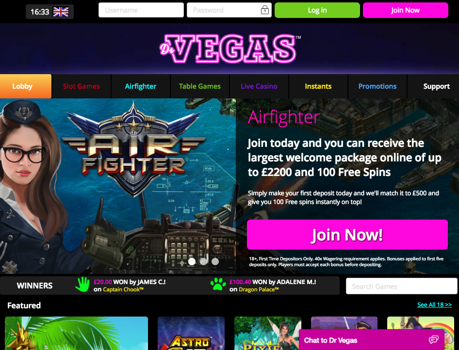 Dr. Vegas Casino